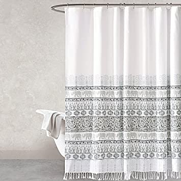 Amazon.com: Shower Curtain Full Of Charmingly Exotic Style 72-Inch ...