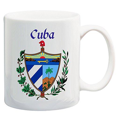 Cuba Coat of Arms 11 Oz Coffee/Cocoa - Arms Of Cuba Coat