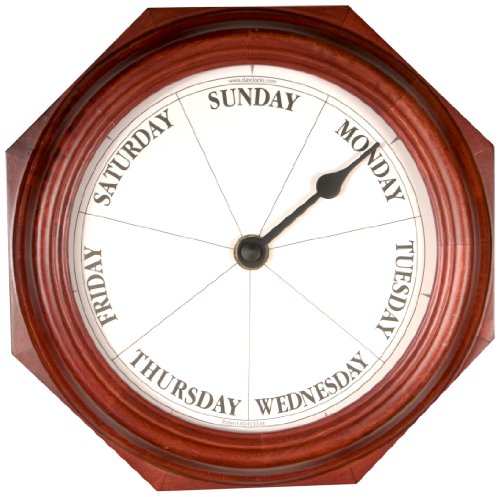 DayClocks Inc. Classic Mahogany DayClock (Gifts Retirement)