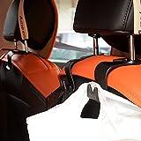 IPELY-Car-SUV-Back-Seat-Headrest-Hanger-Storage-HooksBlack-Set-of-4