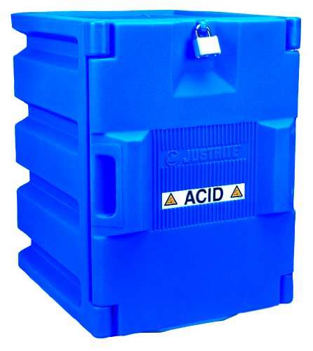 Justrite 24040 2 - 4 Liter Bottles Capacity, 19 1/2