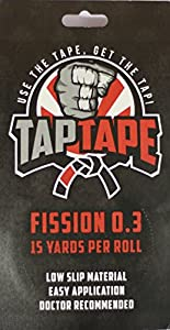 TapTape - Fission 0.3 Finger Tape, 3 Rolls, 15 Yards Each, 0.3 Inch Width