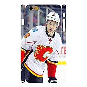 Artistic Personalized Physical Game Hockey Player Action Shot Phone Accessories for Iphone 6 Plus Case - 5.5 Inch