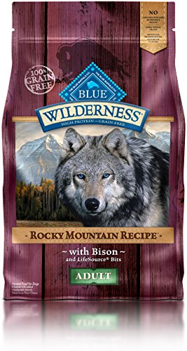 BLUE Wilderness Rocky Mountain Recipe Adult Small Breed Grain Free Red Meat Dry Dog Food 10-lb