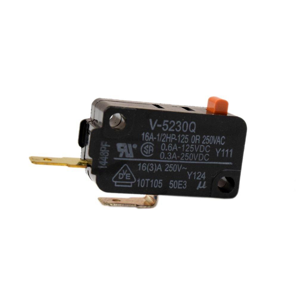 Sharp qswma085wre0 Interruptor de la puerta microondas: Amazon.es ...