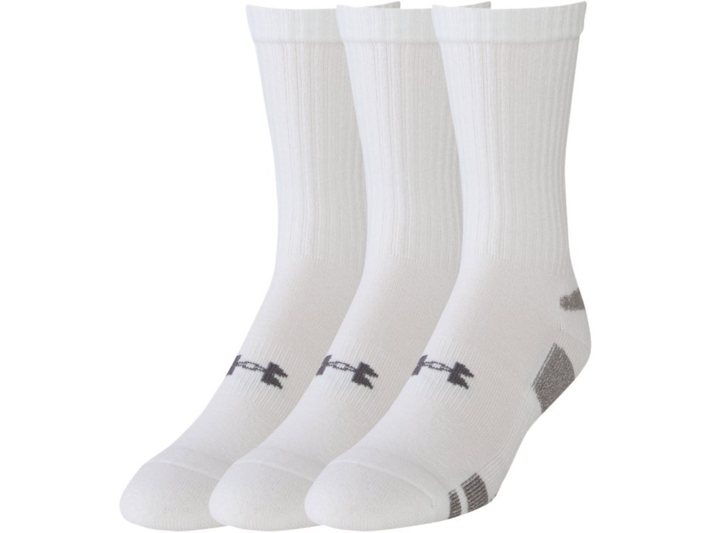 Under Armour UA Heatgear 3PK Crew Calcetines, Hombre: Amazon.es: Deportes y aire libre