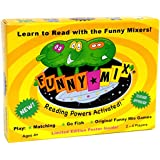 Funny Mix Superhero Phonics Learn to Read Card Game Prek-2nd Grade