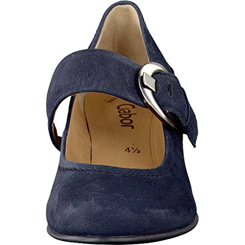 Gabor Women's Shoes Fashion 05.458 Womens Pumps, Court Shoes With Free Socks (Gift Set) Nightblue