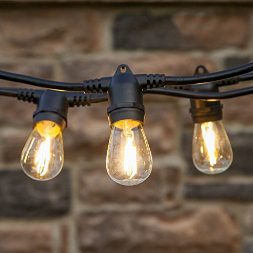 Dimmable Outdoor Patio Lights: Brightech Ambience Pro LED, Outdoor String Lights- Patio