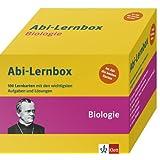 Abi-Box Biologie: Die 100 wichtigsten Aufgaben und Lösungen auf Lernkarten
