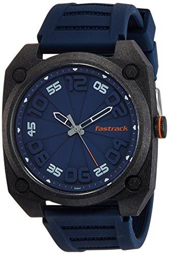 Fastrack Analog Blue Dial Men's Watch   38031PP02J
