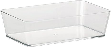 Kela Utensilienbox Kristall 26x14x6cm Aus Kunststoff In Transparent Plastik 26 X 11 X 2 Cm Amazon De Kuche Haushalt
