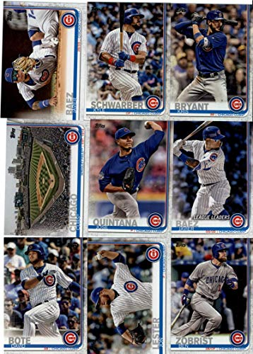 2019 Topps Series 1 Chicago Cubs Team Set