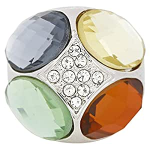 Giro Woman's Alloy Color Stone Ring - G0058-18 mm