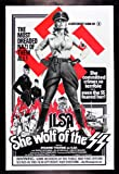 ILSA SHE WOLF OF THE SS * CineMasterpieces NAZI ADULT VINTAGE ORIGINAL EXPLOITATION X RATED MOVIE POSTER 1975