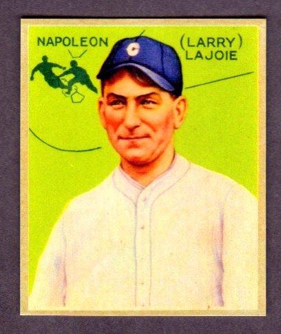 Napoleon Lajoie 1933 Goudey Baseball Reprint Card 106