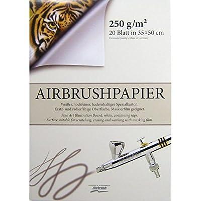 Aérographe Bloc de 500x 350mm 170103haute qualité pour aérographe Papier