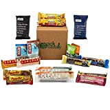 Healthy Snacks In-a-box Protein Energy Nutritional Bars - Care Package - Sampler Pack