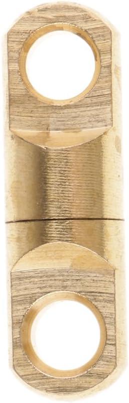 Baoblaze 10 St/ücke Drehring Lager Wirbel Angeln Wirbel Haken Messing Silber//Gold