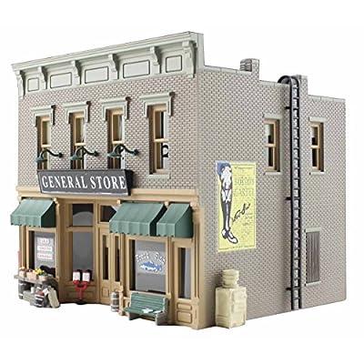Woodland Scenics HO B/U Lubener's General Store: Toys & Games