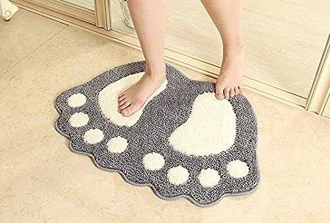 Pebble modello tappeto bagno memory foam kit tappeto tappetini