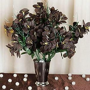 Mikash 6 Silk Primrose Bushes 144 Artificial Wedding Party Flowers Centerpieces Decor | Model WDDNGDCRTN - 13712 | 72