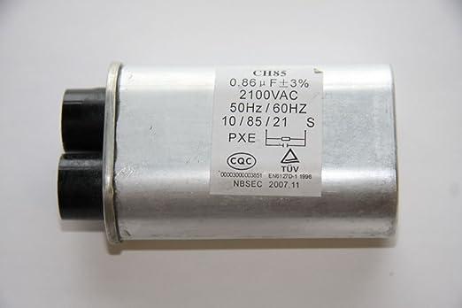 GE WB27 X 10240 GE WB27 X 10240 microondas de alta tensión ...