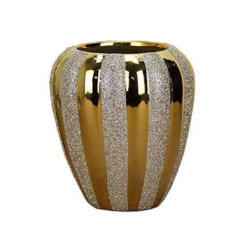 Hehh Tuoba Fish Céramique De Vase De Placage, Décoration De La Maison, OrneHommests D'artisanat De Sablage Au Jet, Vase Citrouille