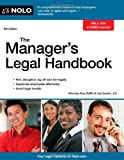 The Manager's Legal Handbook, Lisa Guerin and Amy DelPo, 1413316387