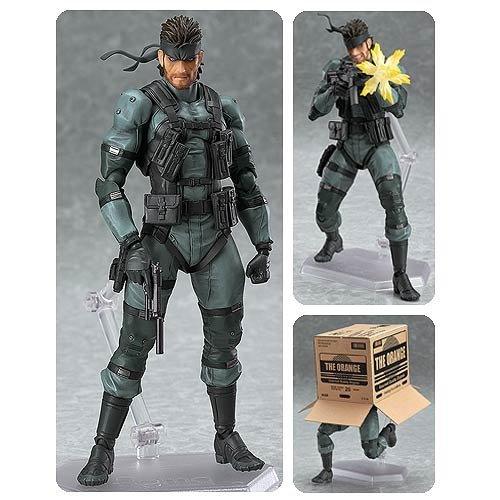 [Figma Metal Gear Solid 2: Sons of Liberty Action Figure] (Metal Gear Solid 1 Snake Costume)