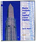 img - for Matrix analysis and applied linear algebra book / textbook / text book