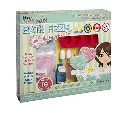 Price comparison product image Kiss Naturals: DIY Bath Fizzie Making Kit
