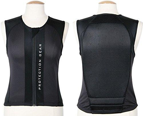 Spine Protector Size L Black Safety Vest Riding Comfortable Black