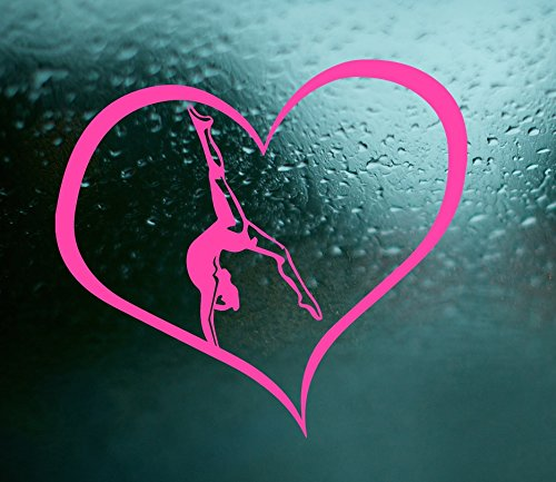 gymnastics car decal - 6