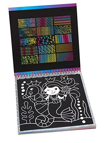 ALEX Art Scra-ffiti Scratch Pad So Cute, Multicolor