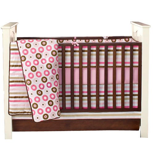 Bacati-Mod-Dots-and-Stripes-10-Piece-Crib-Bedding-Set