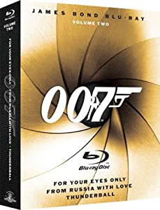 James Bond Blu-ray Collection: Volume Two (For Your Eyes Only / From Russia with Love / Thunderball) [Blu-ray]