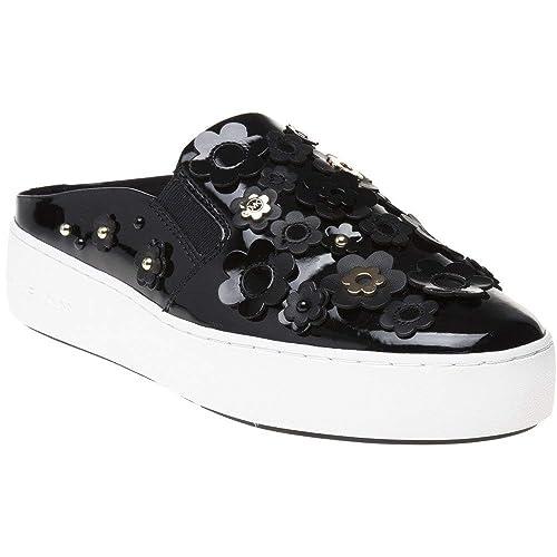 Michael Kors Vanna Slip On Mujer Zapatillas Negro: Amazon.es: Zapatos y complementos