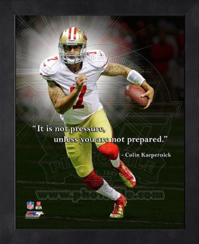 Colin Kaepernick San Francisco 49ers Pro Quotes Framed 8x10 Photo