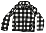 At The Buzzer 98500-WHT-14/16 Polar Fleece Boys Jacket - Buffalo Plaid