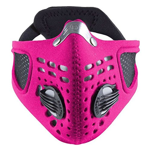 Respro Sportsta Anti-Pollution Mask - Large - Pink by Respro
