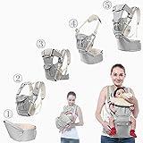 MAIKEHIGH Ergonomischen Babytrage für Kinder und Kleinkinder 3 Tragepositionen Einstellbare Baby Riemen Fördermaschine