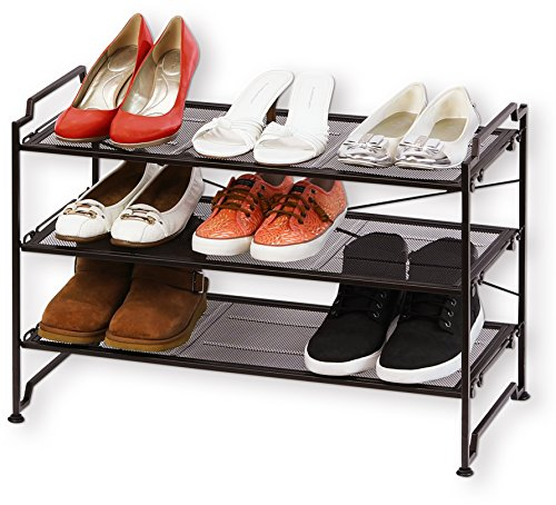 shoe rack bronze - 7