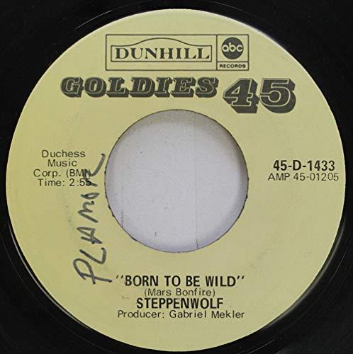 (Steppenwolf 45 RPM Born To Be Wild / Magic Caroet Ride)