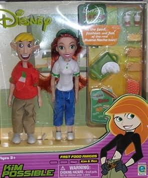 Kim Possible - Fast Food Amigos - Kim and Ron by Disney: Amazon.es ...