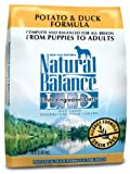 Natural Balance Dry Dog Food, Grain Free Limited Ingredient Diet Duck and Potato Formula, 15 Pound Bag, My Pet Supplies