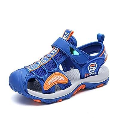 SAGUARO Boys Kids Sports Sandals Blue Size: 1 Little Kid
