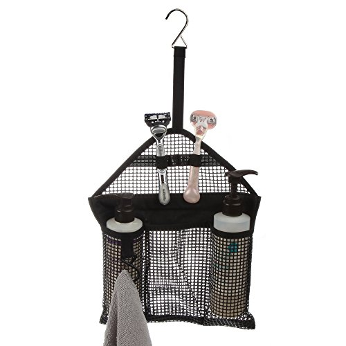 Home-X - Mesh Hanging Shower Caddy | Small Size Great for Travel, Dorm or Gym