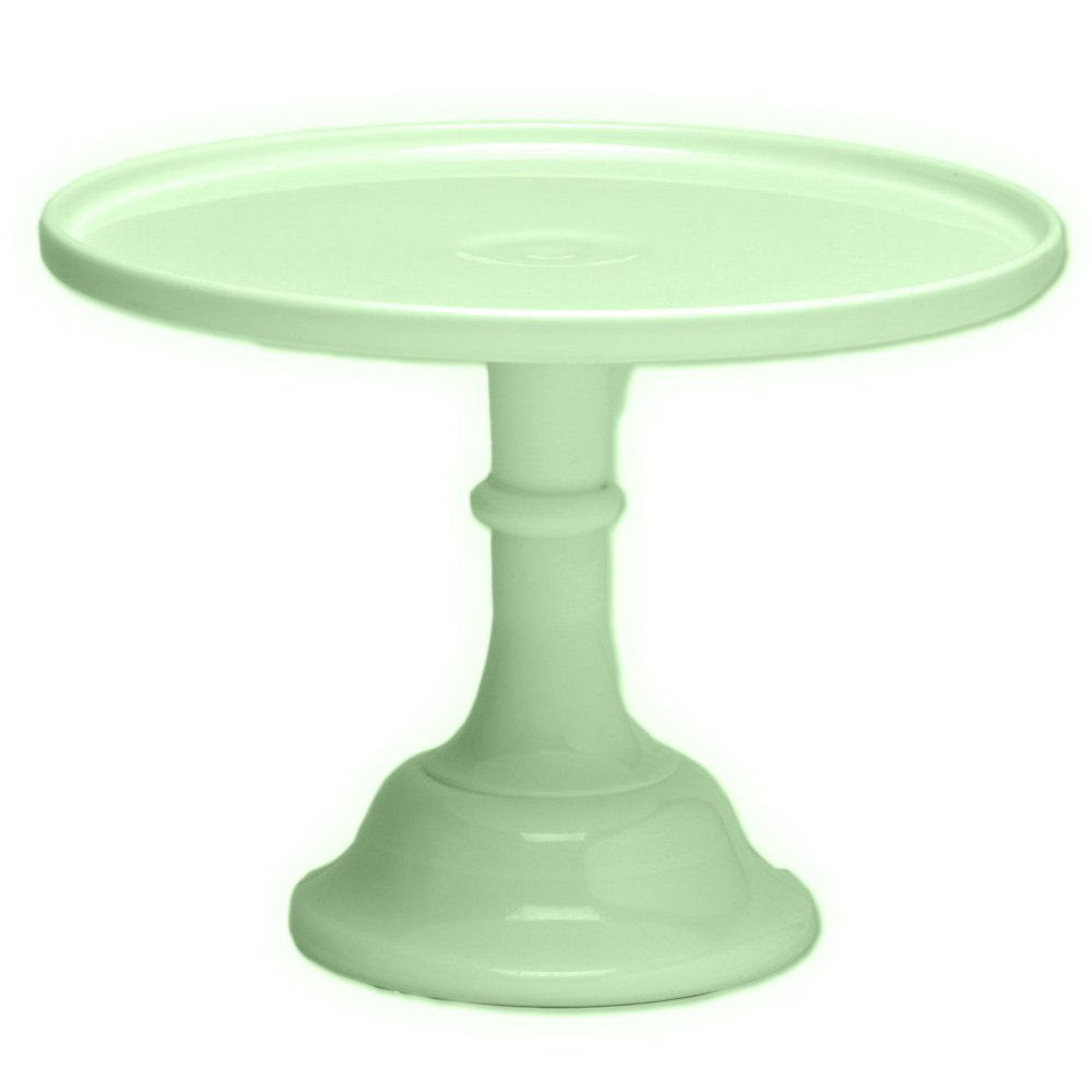 Amazon.com | Mosser Glass 12\  Footed Cake Plate - Jade Glass Cake Stand Green Cake Stands  sc 1 st  Amazon.com & Amazon.com | Mosser Glass 12\