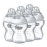Tommee Tippee Closer to Nature Feeding Bottles - Pack of 6 Bild